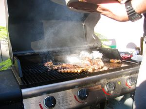 outdoor grilling tips, family barbecuing, familiy grilling