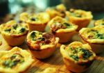 cheese mini quiches