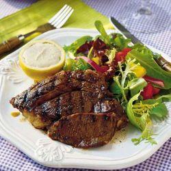 grilling ribeye steaks