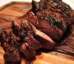 BBQ leg of lamb